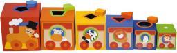 Sevi Kolorowe pudełka, Sorter dla dzieci Cyrk (82946)