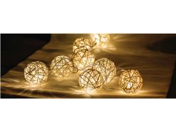 Lampki choinkowe biały ciepły  (HQLEDSLRBALL)