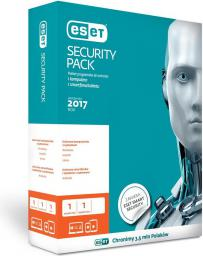 ESET SECURITY PACK 1PC + 1 Smartfon (ESP 1+1U2Y B)