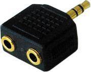 Adapter AV Lindy 3.5mm Jack - 2x 3.5mm Jack (35530)