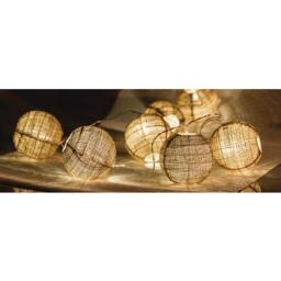 Lampki choinkowe HQ LED biały ciepły 10szt. (HQLEDSLBALL)