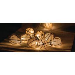 Lampki choinkowe HQ LED biały ciepły 10szt. (HQLEDSLBULB)