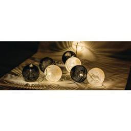 Lampki choinkowe HQ LED biały ciepły 10szt. (HQLEDSLPBALL)