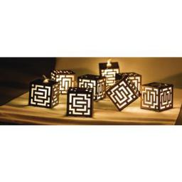 Lampki choinkowe HQ LED biały ciepły 10szt. (HQLEDSLSQRWD)