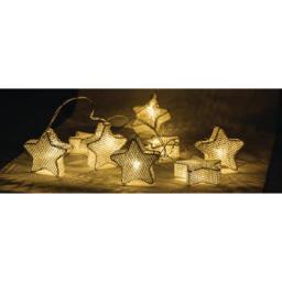 Lampki choinkowe HQ LED biały ciepły 10szt. (HQLEDSLSTAR)