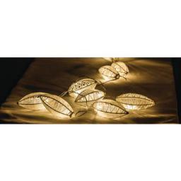 Lampki choinkowe HQ LED biały ciepły 10szt. (HQLEDSLWTRDR)