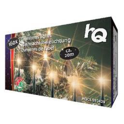 Lampki choinkowe HQ LED biały ciepły 160szt. (HQCLS93429)