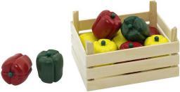 Goki Warzywa w skrzynce, papryki, 10 elementów (51675)