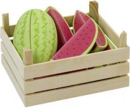Goki Owoce w skrzynce, arbuzy, 12 elementów (51673)