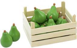 Goki Owoce w skrzynce, gruszki, 10 elementów (51667)