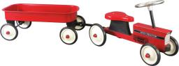 Goki Pojazd dla dzieci, traktor z przyczepą  (14148)