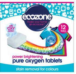 Ecozone Odplamiacz do kolorów Pure oxygen, 12 tabletek (ECZ07358)