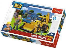 Trefl Puzzle 30el Nowe wyzwanie. Bob Budowniczy (18214 TREFL)