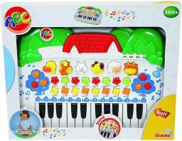Simba ABC Keyboard ze zwierzatkami - 104018188