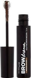Maybelline  Mascara do brwi Brow Drama Sculpting Mascara Medium Brown 7.6ml