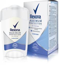 Rexona  Men Maximum Protection Clean Scent Antyperspirant w sztyfcie 45ml
