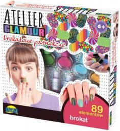 Dromader Atelier Glamour Brokatowe paznokcie (00861)
