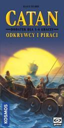 Galakta Catan - Odkrywcy i Piraci - 5/6 graczy (220300)