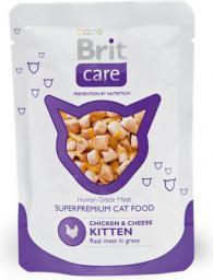 Brit Care Cat Chicken & Cheese KITTEN Pouch 80g