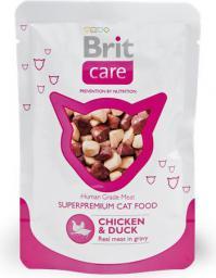 Brit Care Cat Chicken & Duck Pouch 80g