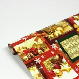Papier ozdobny, wzór bożonarodzeniowy, 70x100cm, 2 szt.