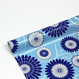 Papier ozdobny, kwiaty, 70x300cm, 1 szt.