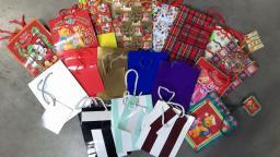 Torebka prezentowa z motywami świątecznymi (TB013)