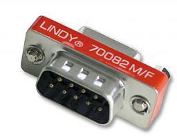 Adapter AV LINDY Mini-Adapter D-Sub / D-Sub 9 Pin - 70082