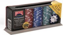 United States Playing Card Co. Poker 100 żetonów 8g BICYCLE