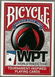 Bicycle Karty WPT Black/White (220453)