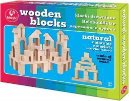 Kukuryku Klocki drewniane naturalne II  (220777)