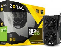 Karta graficzna Zotac GeForce GTX 1050Ti OC 4GB GDDR5 (ZT-P10510B-10L)