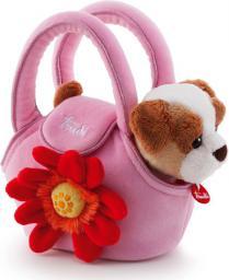 Trudi Piesek w różowej torebce z kwiatkiem (29728)