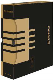 Donau Pudło archiwizacyjne DONAU, karton, A4/80mm, brązowe - 5901498109365