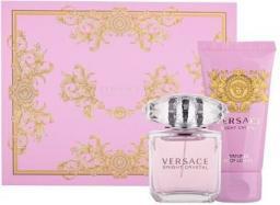 VERSACE Bright Crystal Zestaw perfum EDT 30 ml + 50ml Balsam
