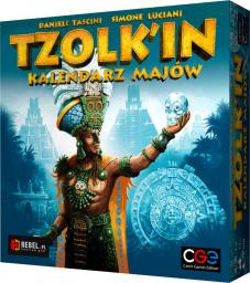 Rebel Gra planszowa Tzolkin: Kalendarz Majów (220988)