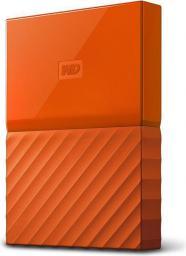 Dysk zewnętrzny Western Digital HDD My Passport 1 TB Pomarańczowy (WDBYNN0010BOR-WESN)