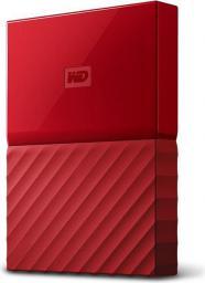 """Dysk zewnętrzny Western Digital My Passport 2.5"""" 4TB USB 3.0 (WDBYFT0040BRD-WESN)"""