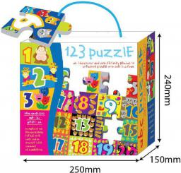 Russell Mata z puzzli - Cyferki 1 24el. (3252HT)