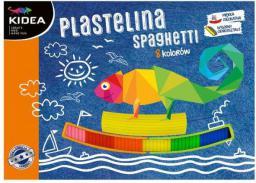 Derform Plastelina 8 kolorów spaghetti (DERF.PS8KKA)