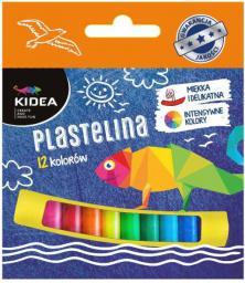 Derform Plastelina mała 12 kolorów (DERF.PM12KKA)
