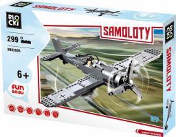 Blocki Blocki samoloty - Samolot myśliwski II 299 el.