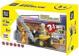 ICOM Blocki - Pojazdy Budowlane 3w1 51el.