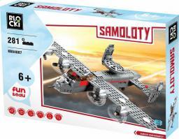 Blocki Blocki Samoloty - Samolot rozpoznawczy 281 el.