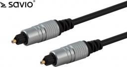 Kabel Elmak Toslink - Toslink 1m czarny (SAVIO CLS-08)