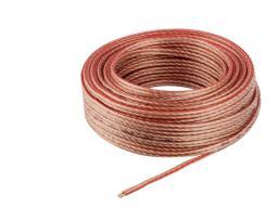 Przewód Elmak SAVIO CLS-02 Przewód, kabel głośnikowy OFC, 2x1.0mm2, 20m  CLS-02