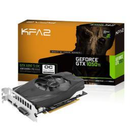 Karta graficzna KFA2 GeForce GTX 1050 Ti OC 4GB GDDR5 (128 Bit) HDMI, DP, DVI, BOX (50IQH8DSN8OK)