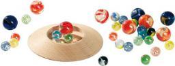 Goki Szklane kulki z talerzem do gry, 31 sztuk  (63947)