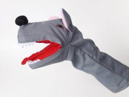 Goki Pacynka na rękę, wilk (SO361)