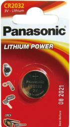 Panasonic Bateria Lithium Power CR2032 220mAh 1szt.